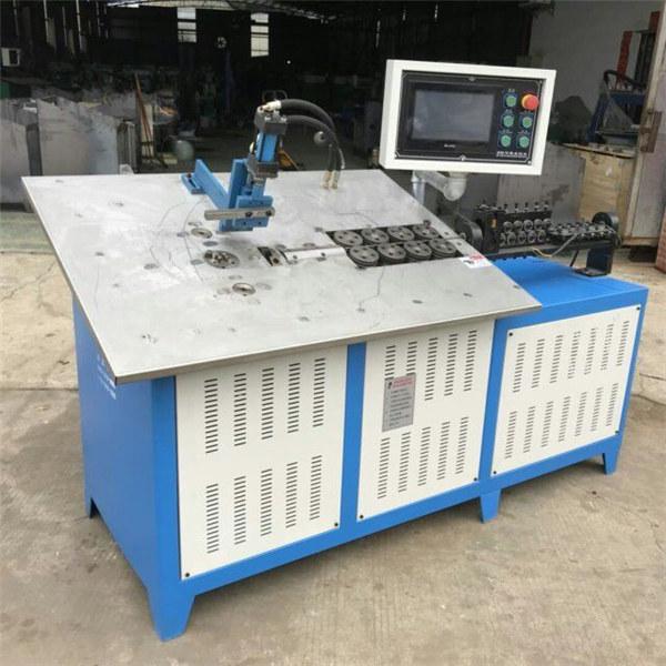 گرم، شہوت انگیز فروخت خود کار طریقے سے 3D سٹیل تار تشکیل مشین CNC 2D تار موڑنے مشین کی قیمت
