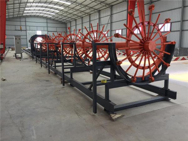 CNC کی پائیدار پائل اسٹیل Rebar کیج ویلڈنگ کی مشین بنانے