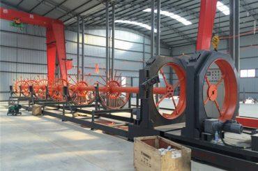 عمارت کے لئے CNC سٹیل کیجج ویلڈنگ مشین سٹیل رول سییم ویلڈر استعمال