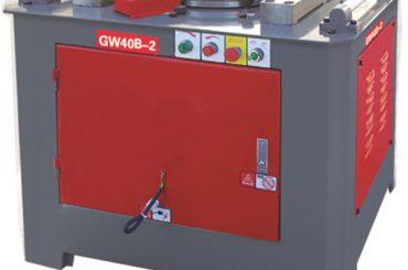 سٹیل پوپ موڑنے کے لئے بجلی rebar موڑنے والی مشین