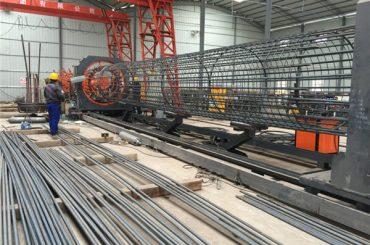 چین میں بنایا سادہ آپریشن پائیدار اور مضبوط معیار کی یقین دہانی کرائی سٹیل rebar پنجرا ویلڈنگ کی مشین اور مضبوط پنج سازی بنانے