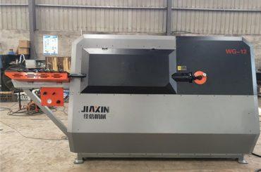 پورٹیبل rebar ہلکا پھلکا مشین CNC راؤنڈ سٹیل بار کاٹنے اور موڑنے والی مشین موڑنے
