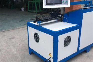 6 ملی میٹر سٹیل تار ہینگر موڑنے والی مشین عالمگیر سٹینلیس سٹیل ٹوکری سی این سی تار بینڈر